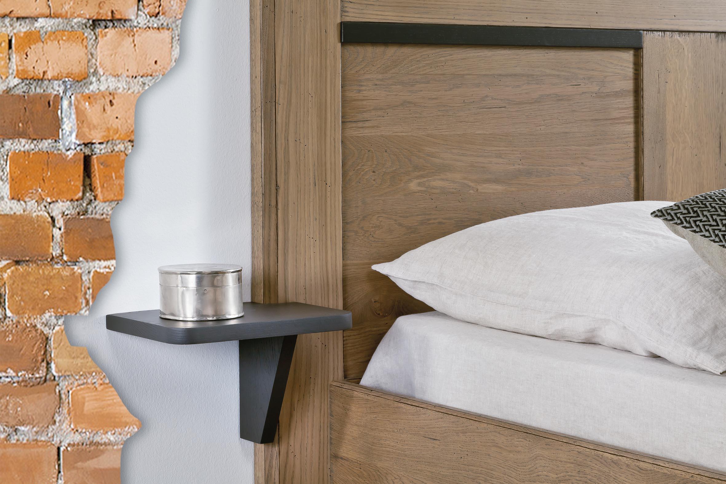 chevet tablette suspendu a gauche ro200g. Black Bedroom Furniture Sets. Home Design Ideas