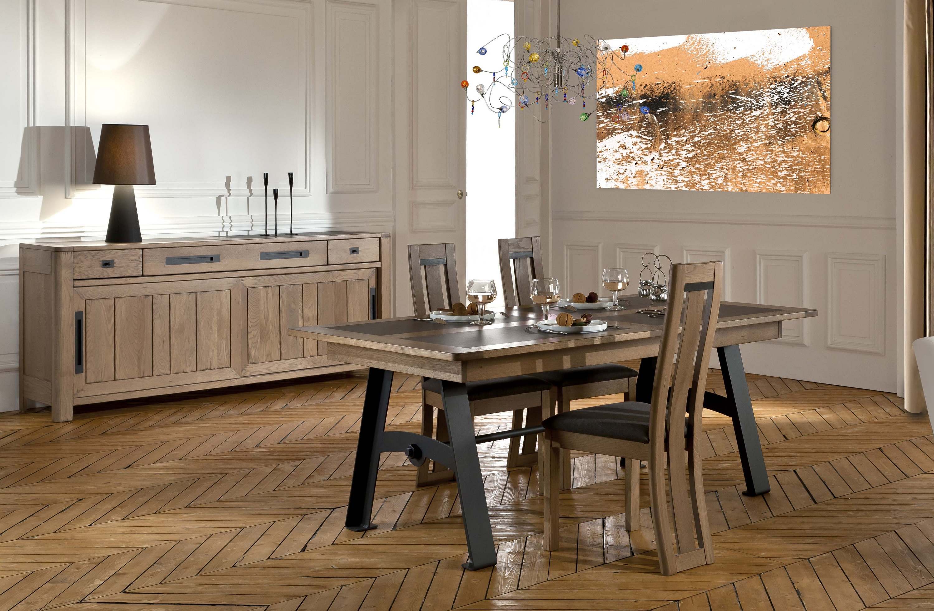 Deauvil for Meuble salle a manger fabrication francaise