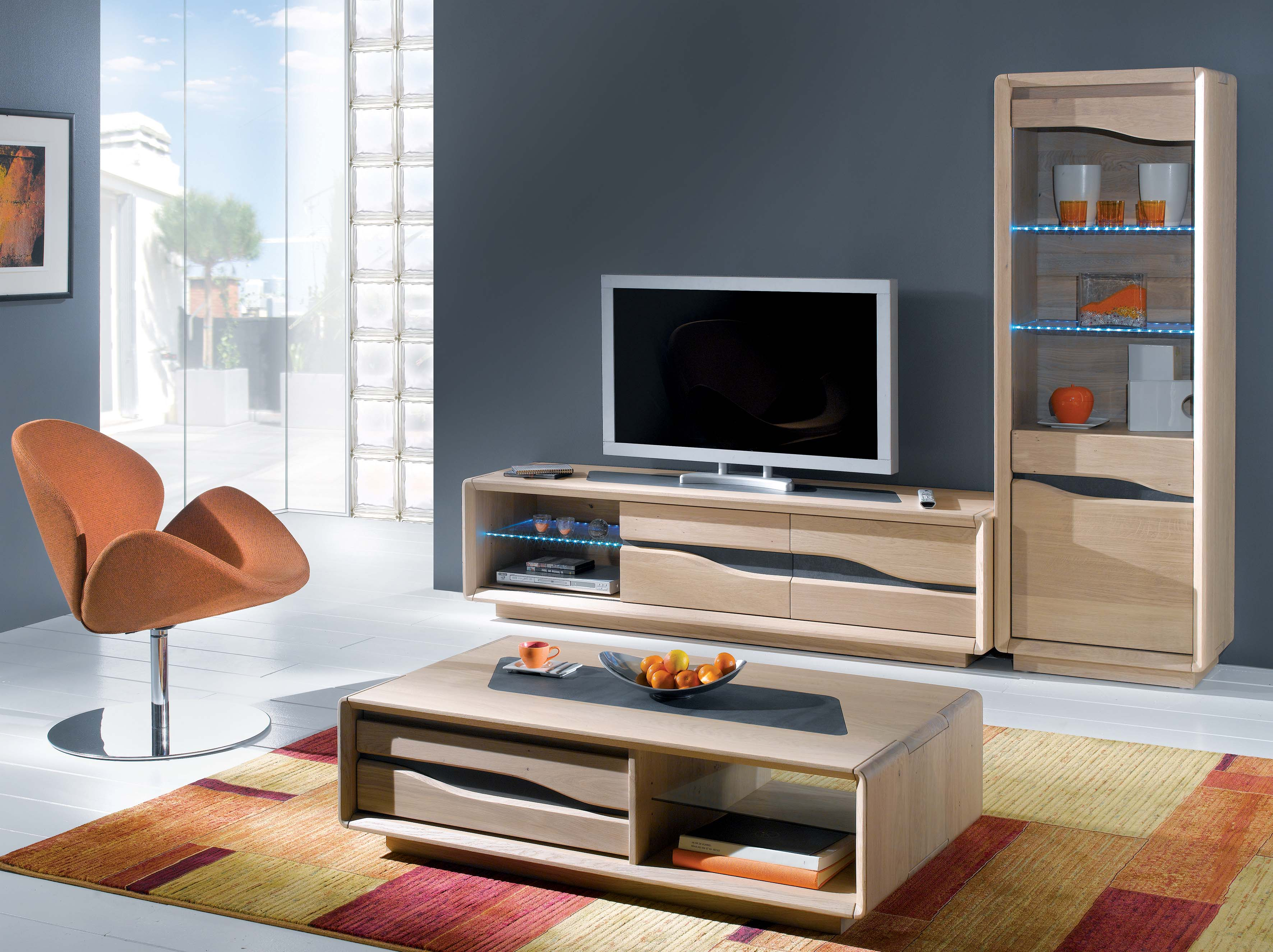 meuble tv design contemporain ce820n. Black Bedroom Furniture Sets. Home Design Ideas