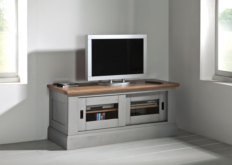 petit meuble tv romance 2 portes ro820pm. Black Bedroom Furniture Sets. Home Design Ideas