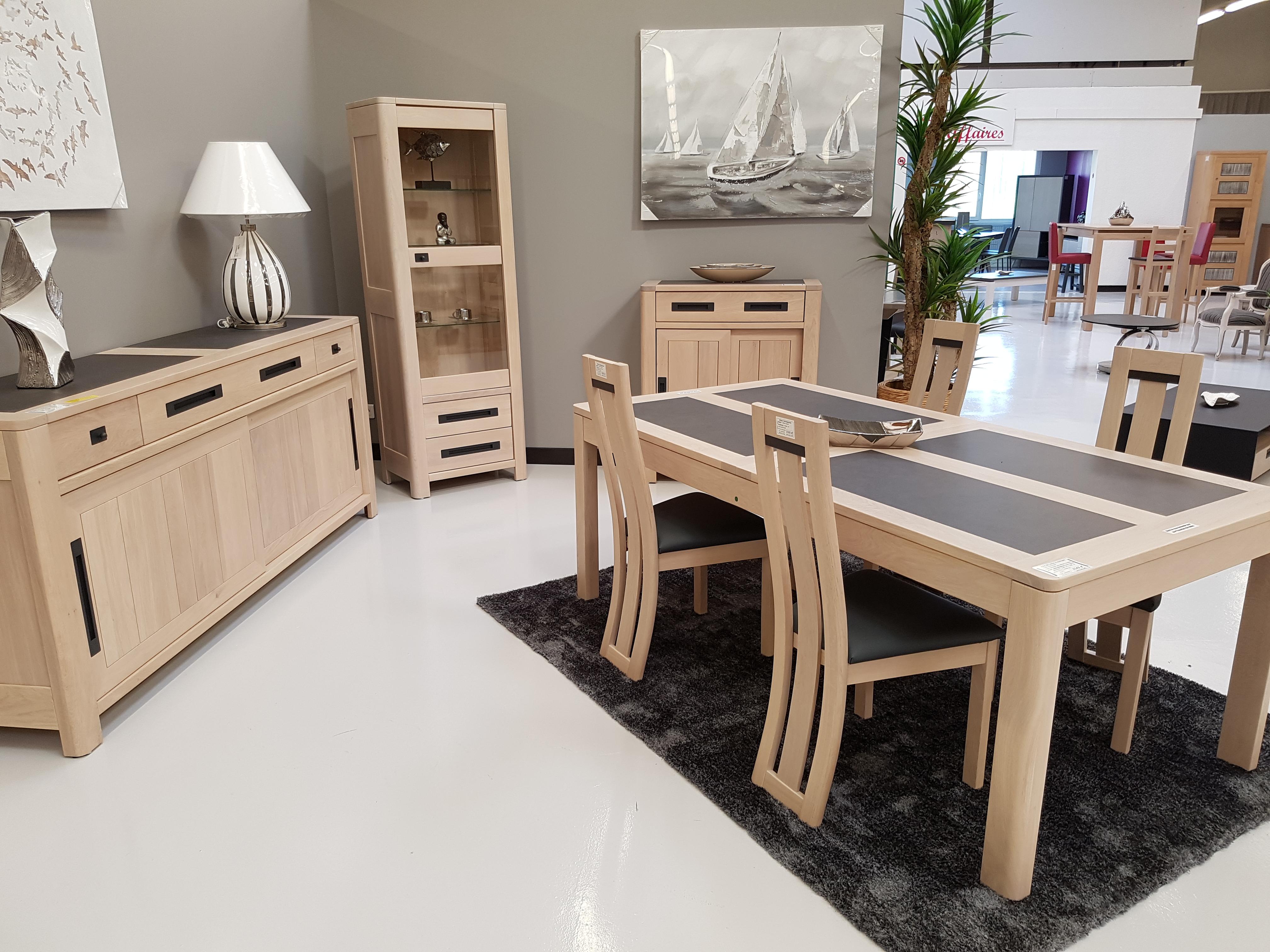 bahut ceram 2 portes ce420b. Black Bedroom Furniture Sets. Home Design Ideas
