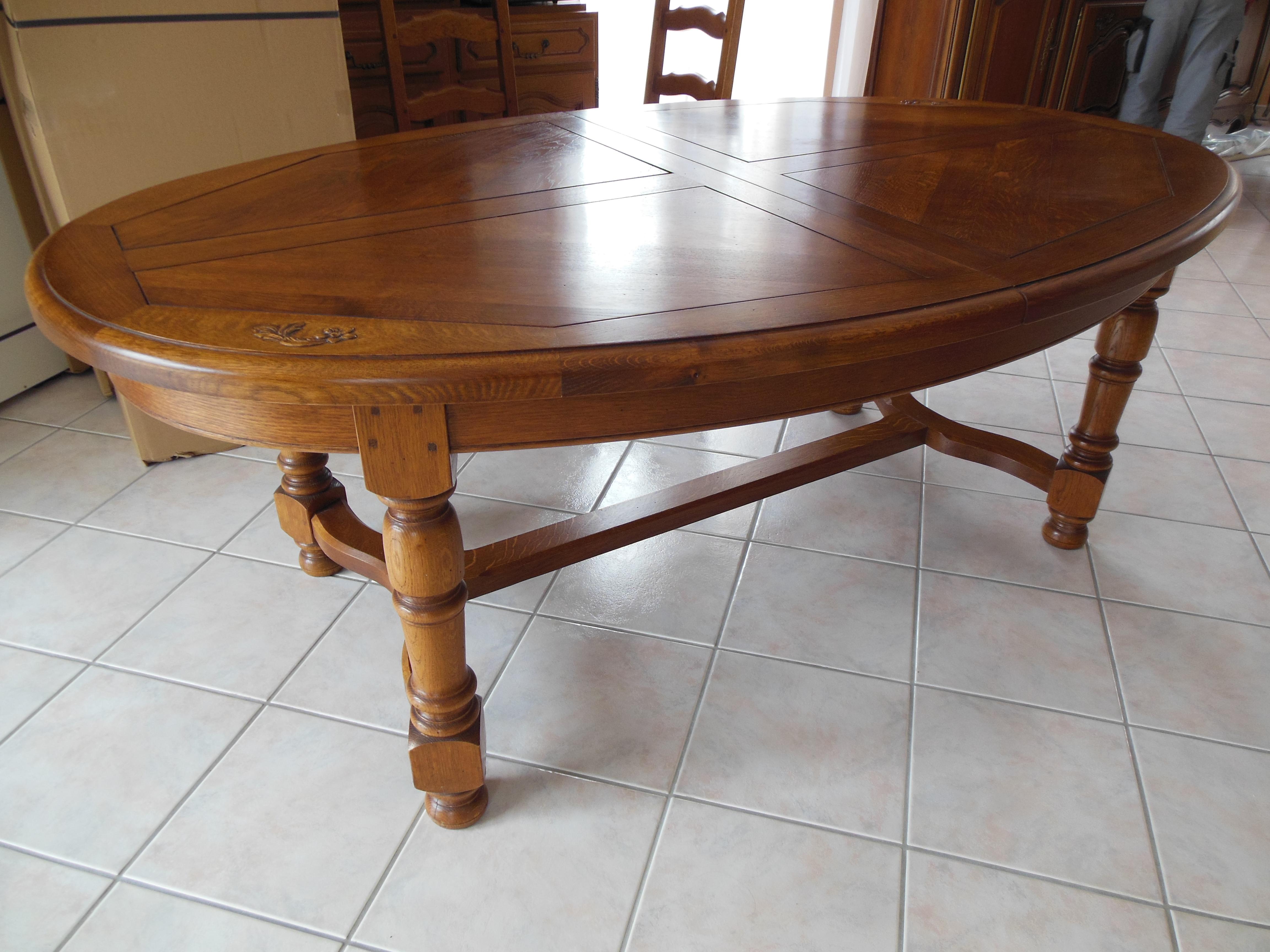 Table Rustique à Moderniser