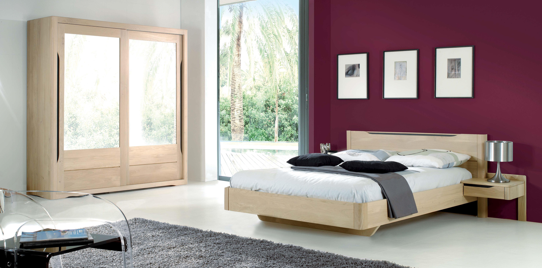 lit contemporain lilou pour 90 x 190 l9019. Black Bedroom Furniture Sets. Home Design Ideas