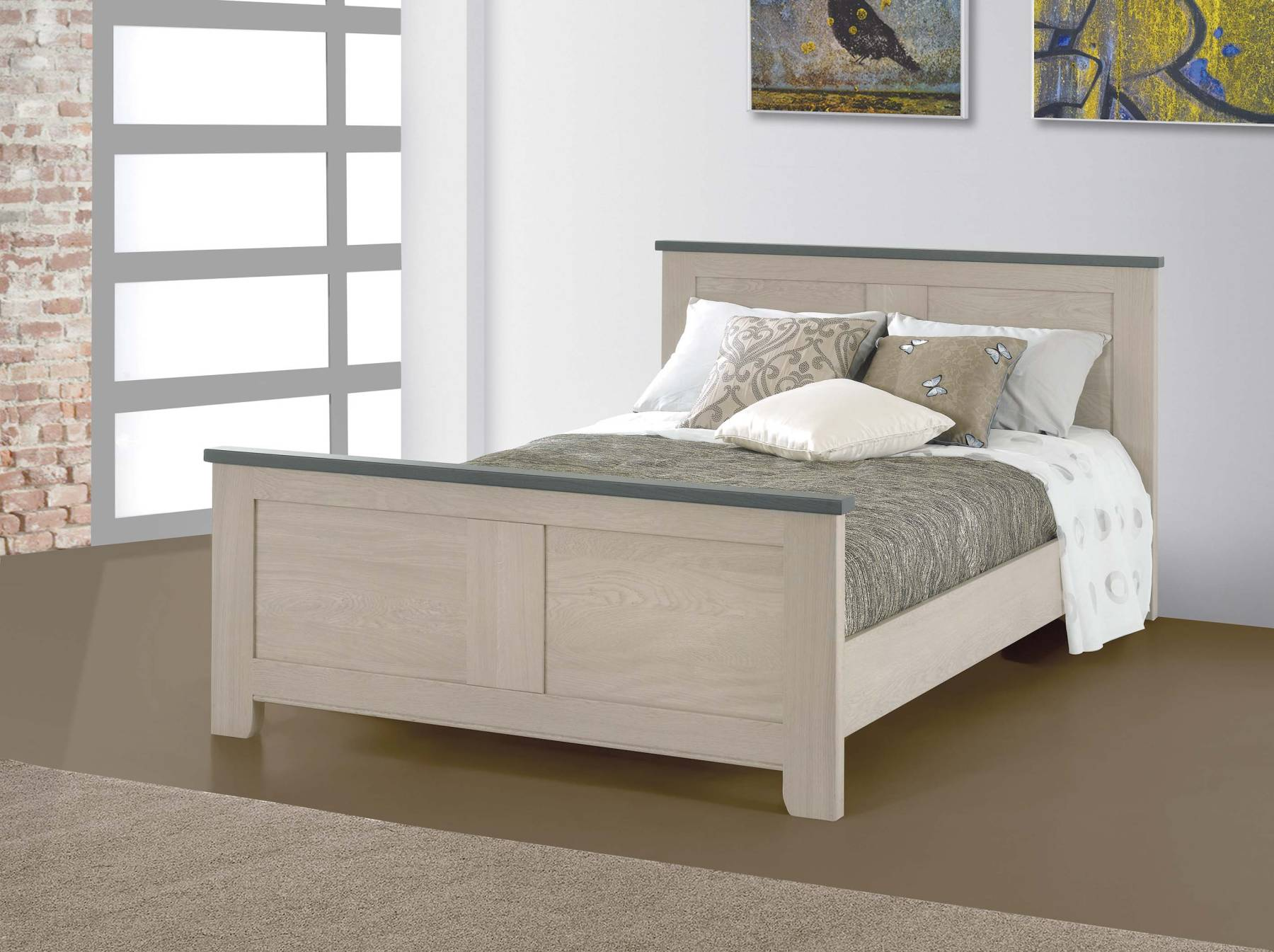 lit contemporain whitney pour 160 x 200 w1620. Black Bedroom Furniture Sets. Home Design Ideas