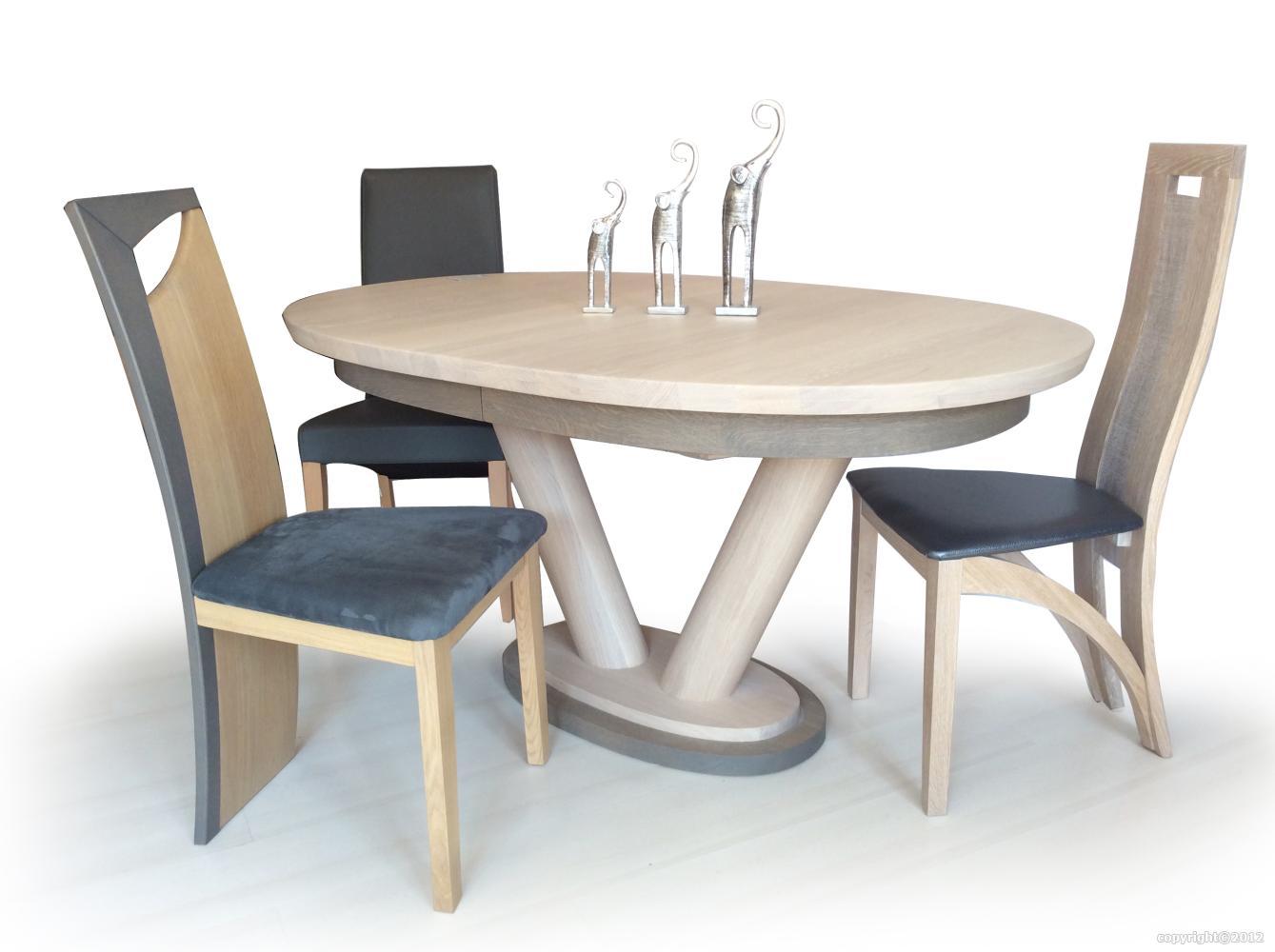 table en massif contemporaine moderne