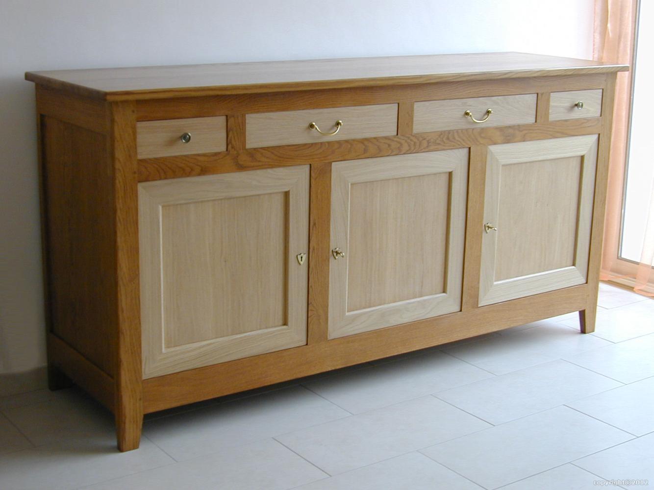 Fabricant meuble massif contemporain chªne 54 Ville en Vermois