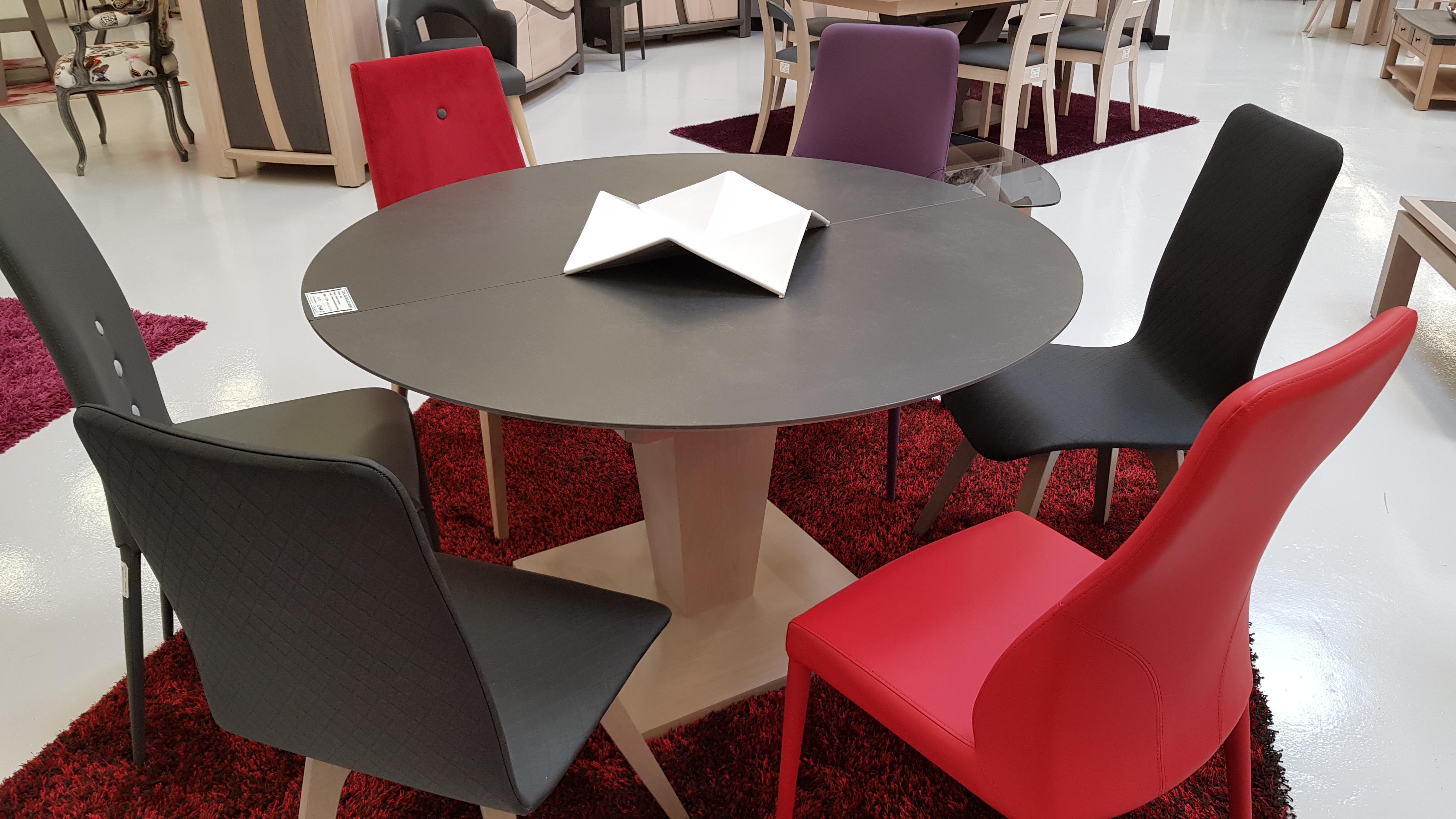 De Salle À Manger table de salle à manger en céramique 1 allonge portefeuille en céramique