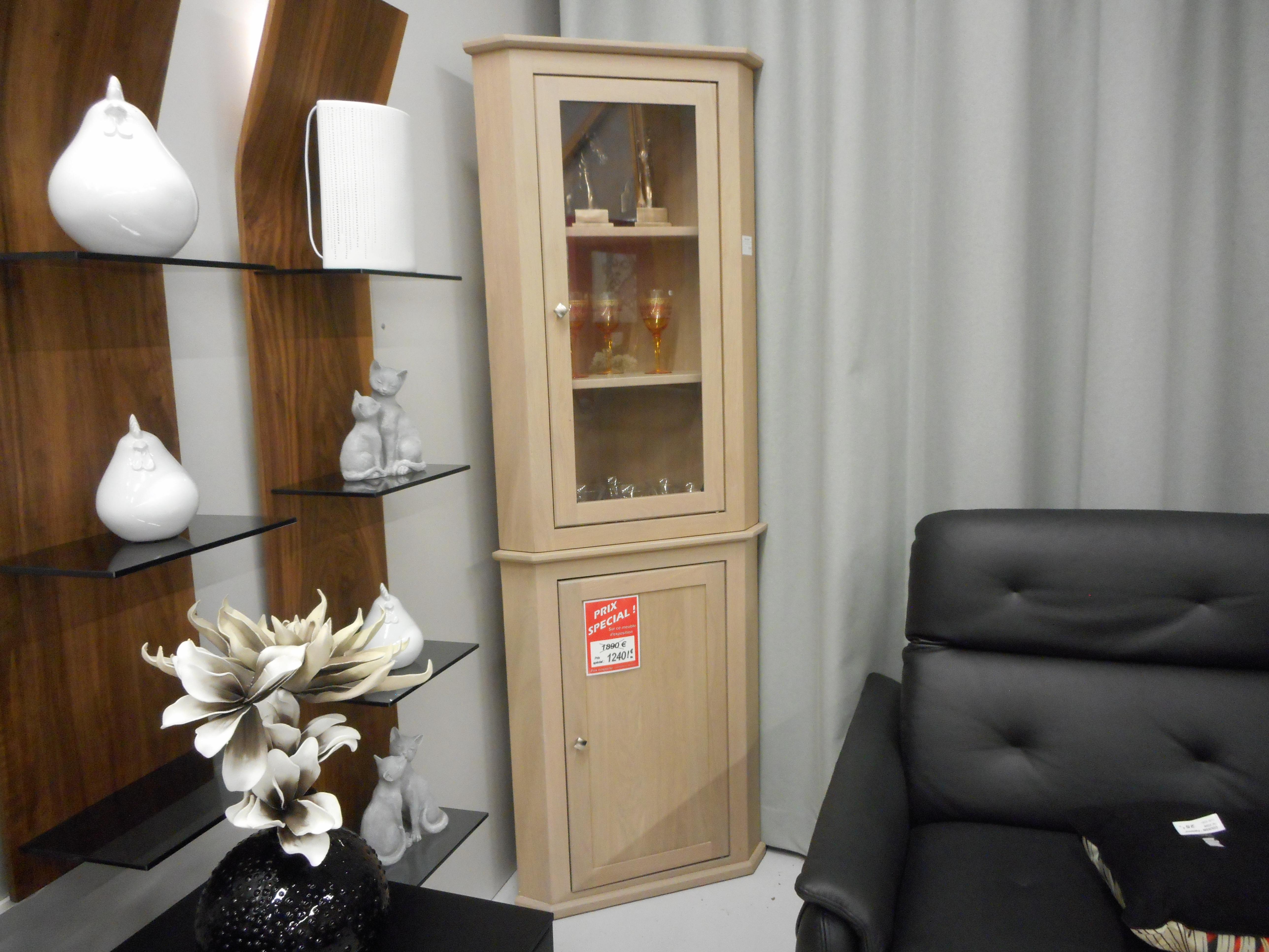 Meuble Haut D Angle Pour Tv meuble d'angle haut + bas