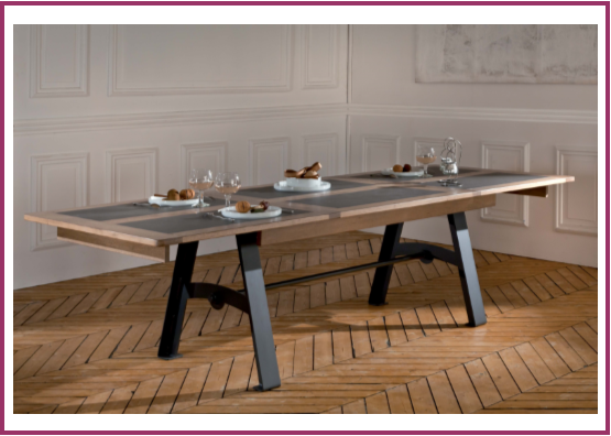 Table Deauvil avec allonges
